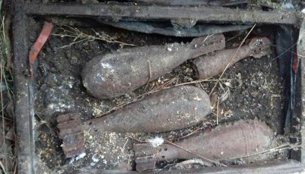 В Лимане полиция изъяла четыре минометных мины в доме местного жителя