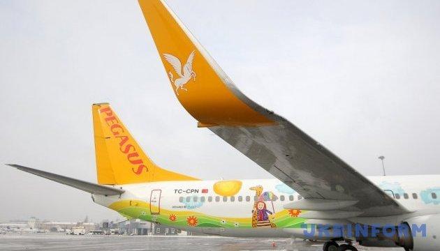Із квітня Pegasus Airlines літатиме з Києва до Анкари частіше