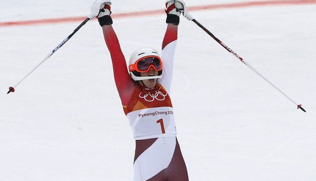 Швейцарская горнолыжница Гизин выиграла