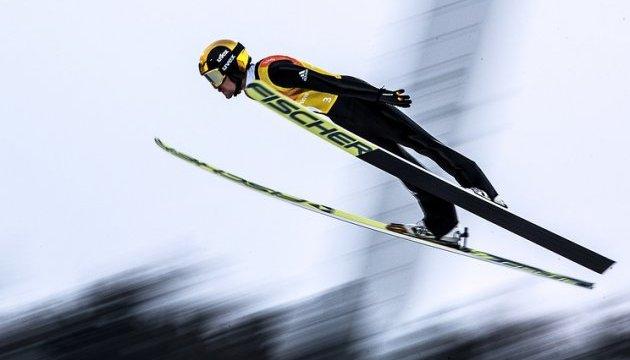 Немцы выиграли лыжное двоеборье в Пхёнчхане