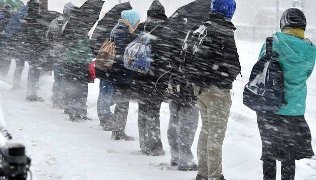Синоптики прогнозують на сьогодні хуртовини та до 27° морозу