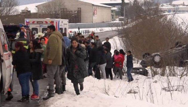 В Словакии авто врезалось в группу детей: 12 пострадавших