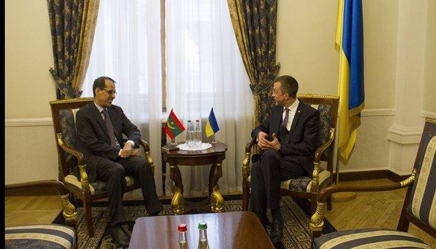 В Украине начал деятельность новый посол Мавритании