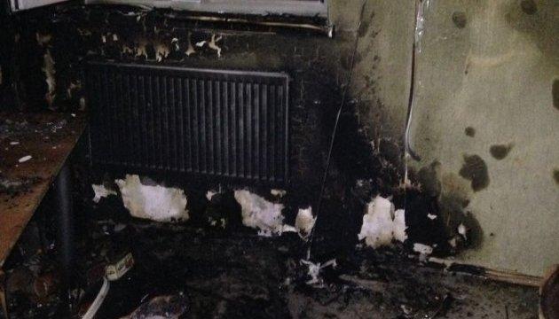 В Ривном подожгли офис журналистских расследований, полиция открыла дело