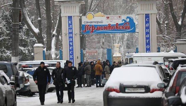 В одесской санаторий ворвались полсотни мужчин в балаклавах