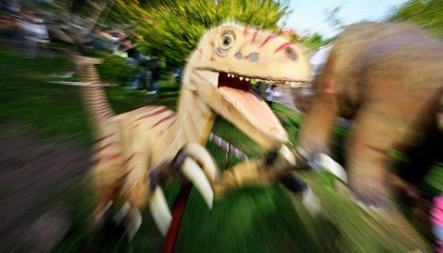 Des dinosaures viennent perturber la région d'Ivano-Frankivsk en Ukraine