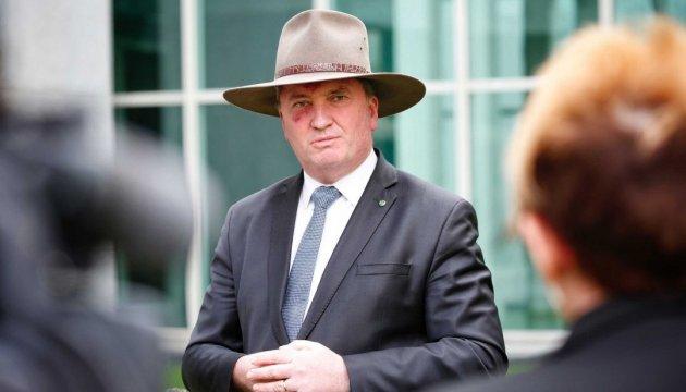 Віце-прем'єр Австралії йде у відставку через сексуальний скандал