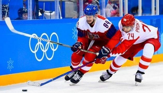 Сборная ОАР - первый финалист мужского хоккейного турнира