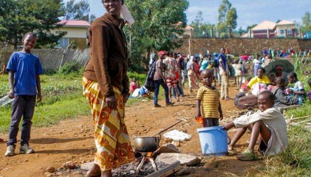 У Руанді під час зіткнень із поліцією загинули п'ятеро біженців
