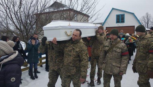 На Житомирщині попрощалися з убитою на Донбасі медсестрою