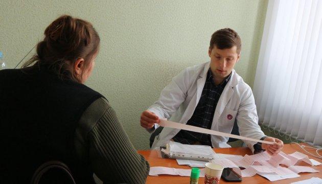 Кардиологи института Амосова обследовали почти 130 жителей Луганщины