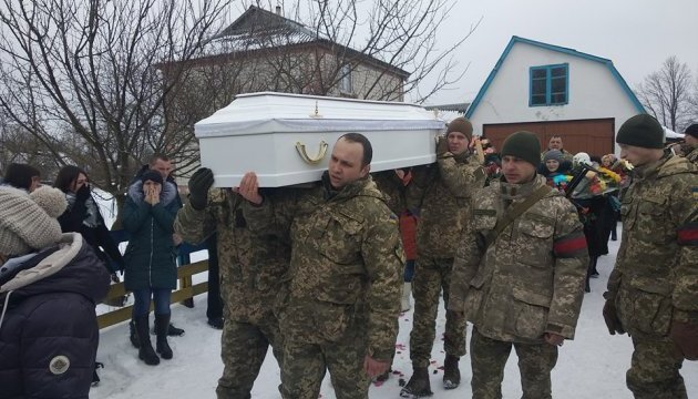 Jytomir : Funérailles de l'infirmière tuée dans le Donbass (photos)