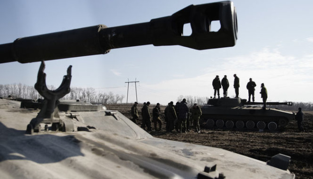 Russian-led forces using ceasefire to put new mine obstacles - intelligence