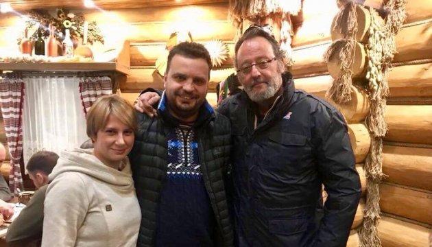 В Украину на съемки фильма «Последний шаг» приехал Жан Рено