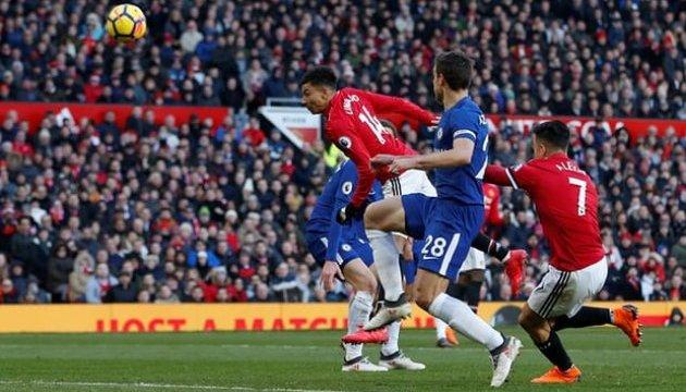 «Манчестер Юнайтед» обіграв «Челсі» і повернувся на друге місце у прем'єр-лізі