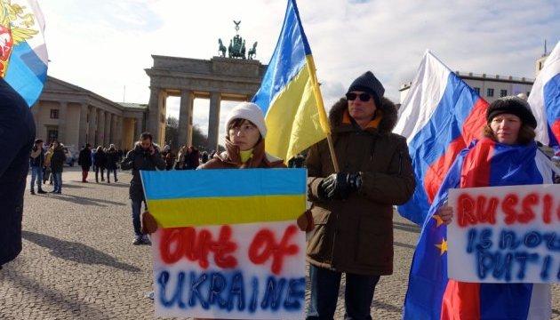 Митинг памяти Бориса Немцова прошел в Берлине