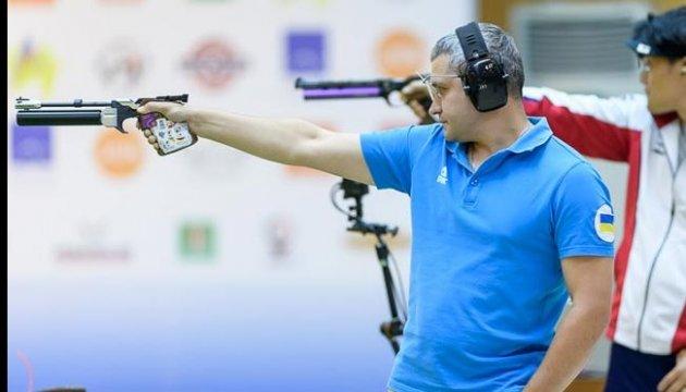 Украинская команда победила на ЧЕ в стрельбе из пневматического пистолета