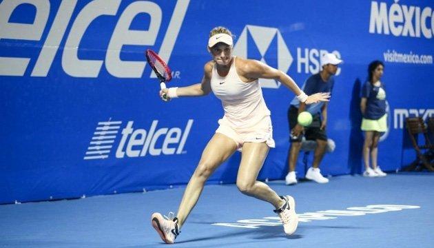 Теніс:  Ястремська зіграє в Акапулько проти чемпіонки Олімпійських Ігор