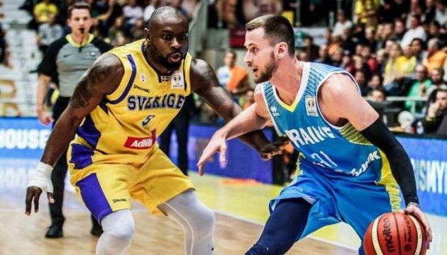 Баскетбол: збірна України обіграла вдома у шведів у відборі на чемпіонат світу