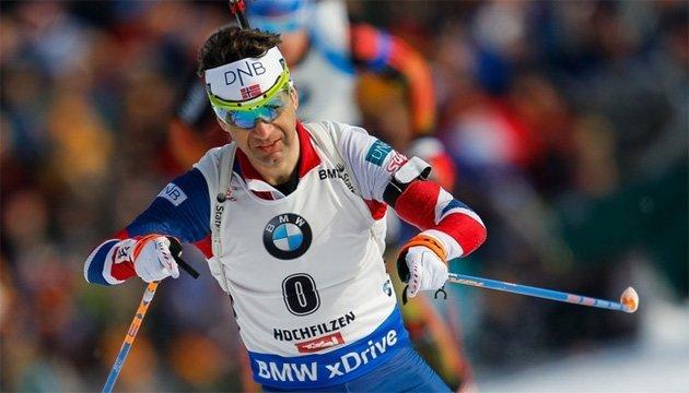 Біатлон: Бьйорндален відсутній в заявці збірної Норвегії на етап Кубка світу