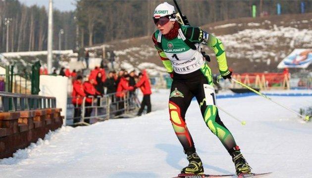 Белорусская биатлонистка Блашко еще два года не сможет выступать за Украину