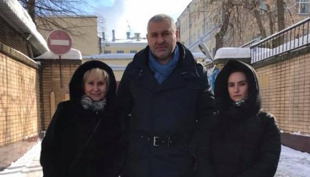 Súshchenko se encuentra en Lefortovo con su esposa e hija
