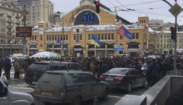 Ветеранские организации разблокировали Крещатик