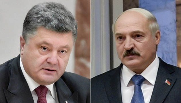 Poroshenko, Lukashenko discuss topical issues of Ukraine-Belarus relations