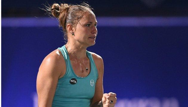Теннис: Бондаренко преодолела стартовый барьер турнира WTA в США