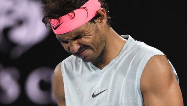 Теніс: Надаль відмовився виступити на турнірі ATP в Акапулько