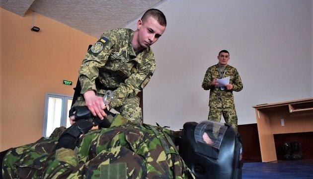 Во Львове военные провели учения по стандартам НАТО