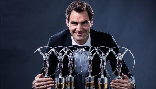 Теніс: Федерер і Серена Вільямс стали спортсменами року за версією Laureus