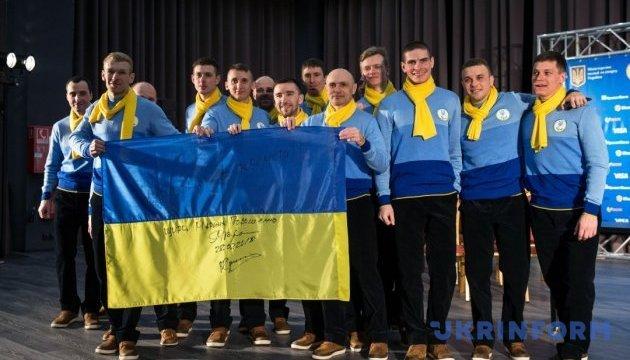 Українських паралімпійців провели на зимові Ігри в Пхьончхані