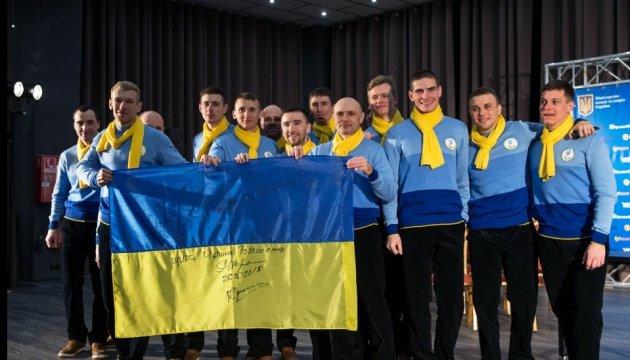 Les athlètes ukrainiens en route pour les Jeux Paralympiques d'hiver à PyeongChang