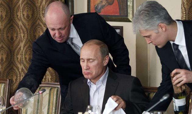 Пригожин, Путін / Фото: АР