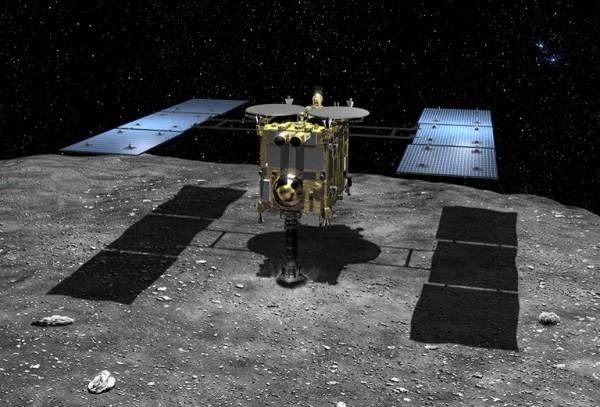 «Хаябуса-2» получила 1-ый снимок астероида Рюгу