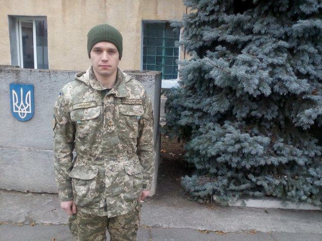 Молодший лейтенант Ігор Тоцький
