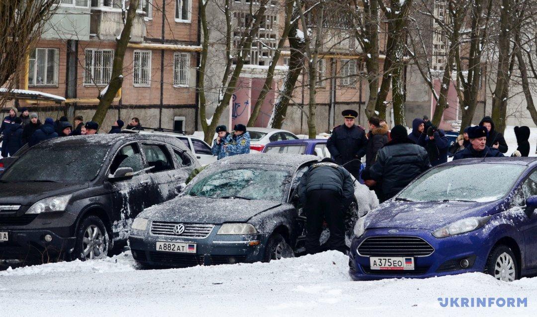Вцентре Донецке прогремел мощнейший взрыв