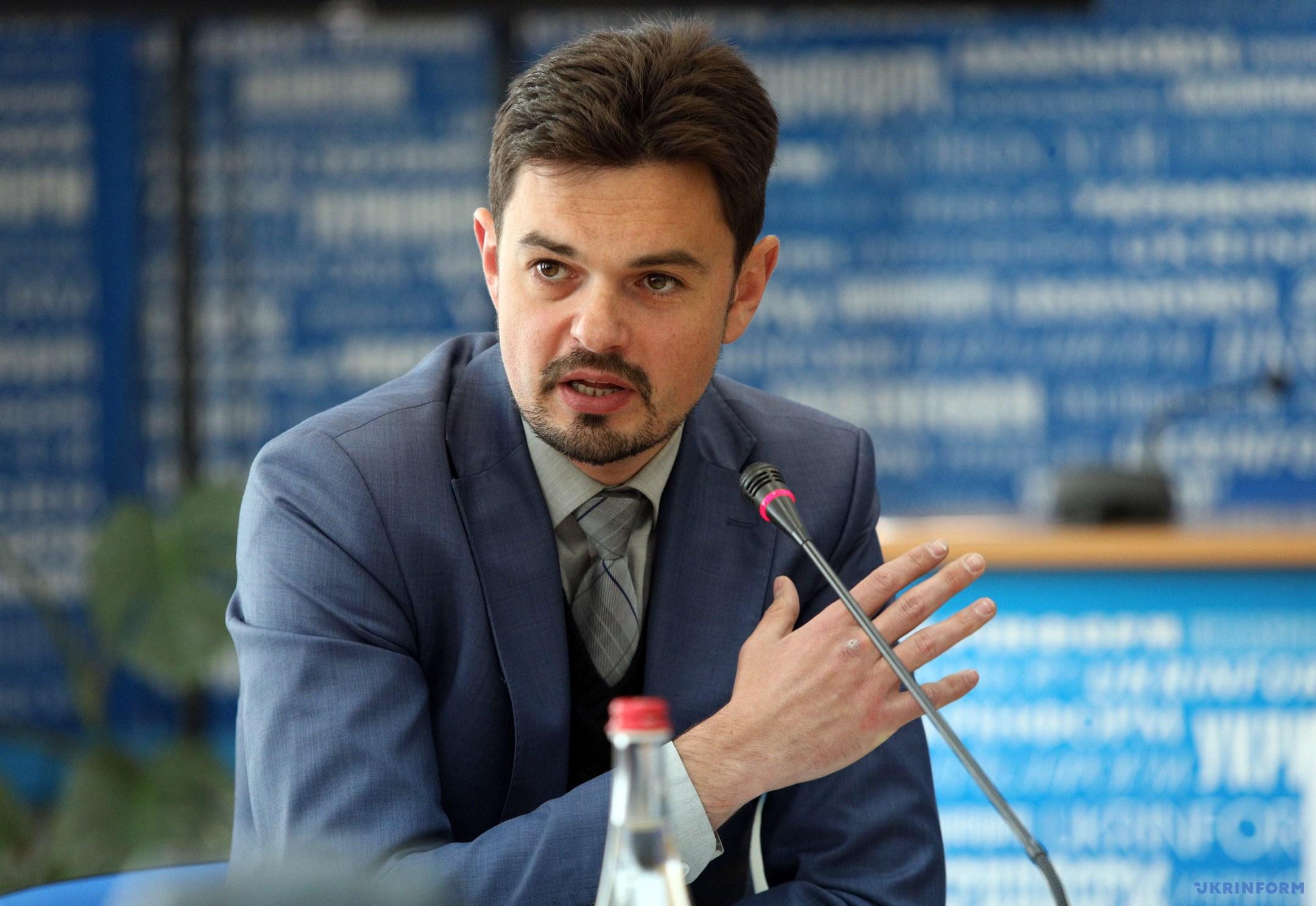 Дмитро Золотухін, заступник Міністра інформаційної політики України