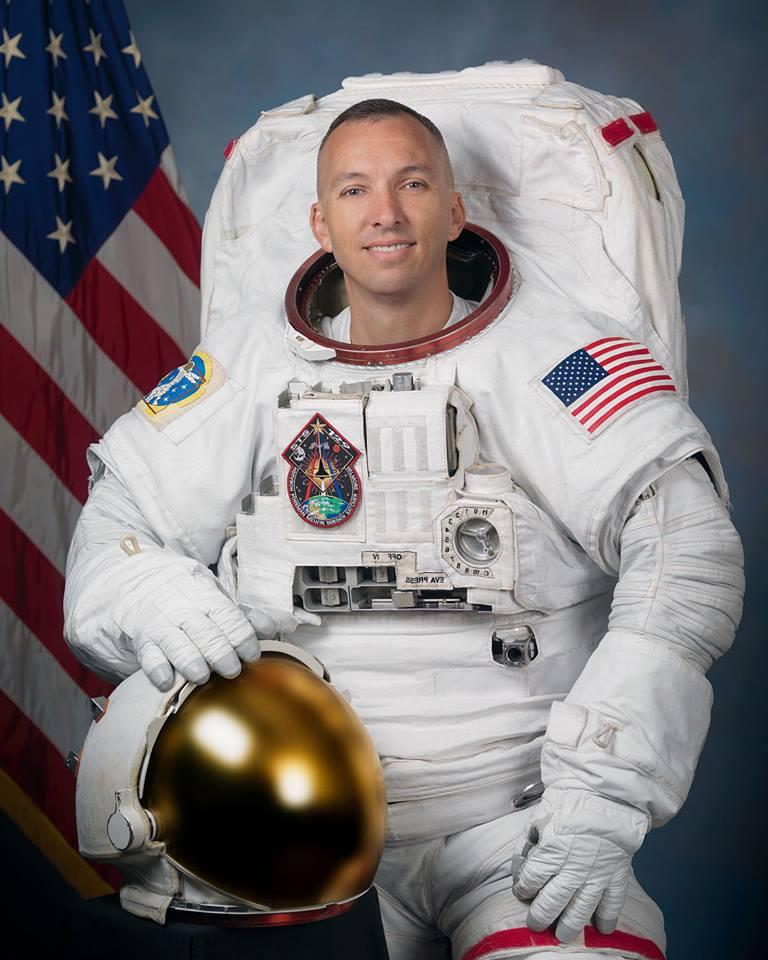 Астронавт, постивший сМКС фото Украины, приедет вЖитомир