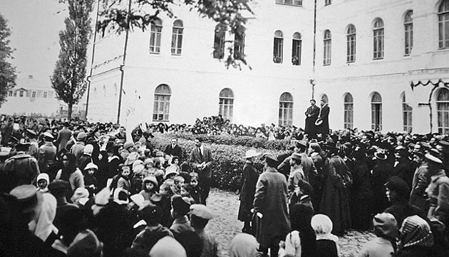 Відкриття Кам'янець-Подільського Університету. Фото: tsdkffa.archives.gov.ua