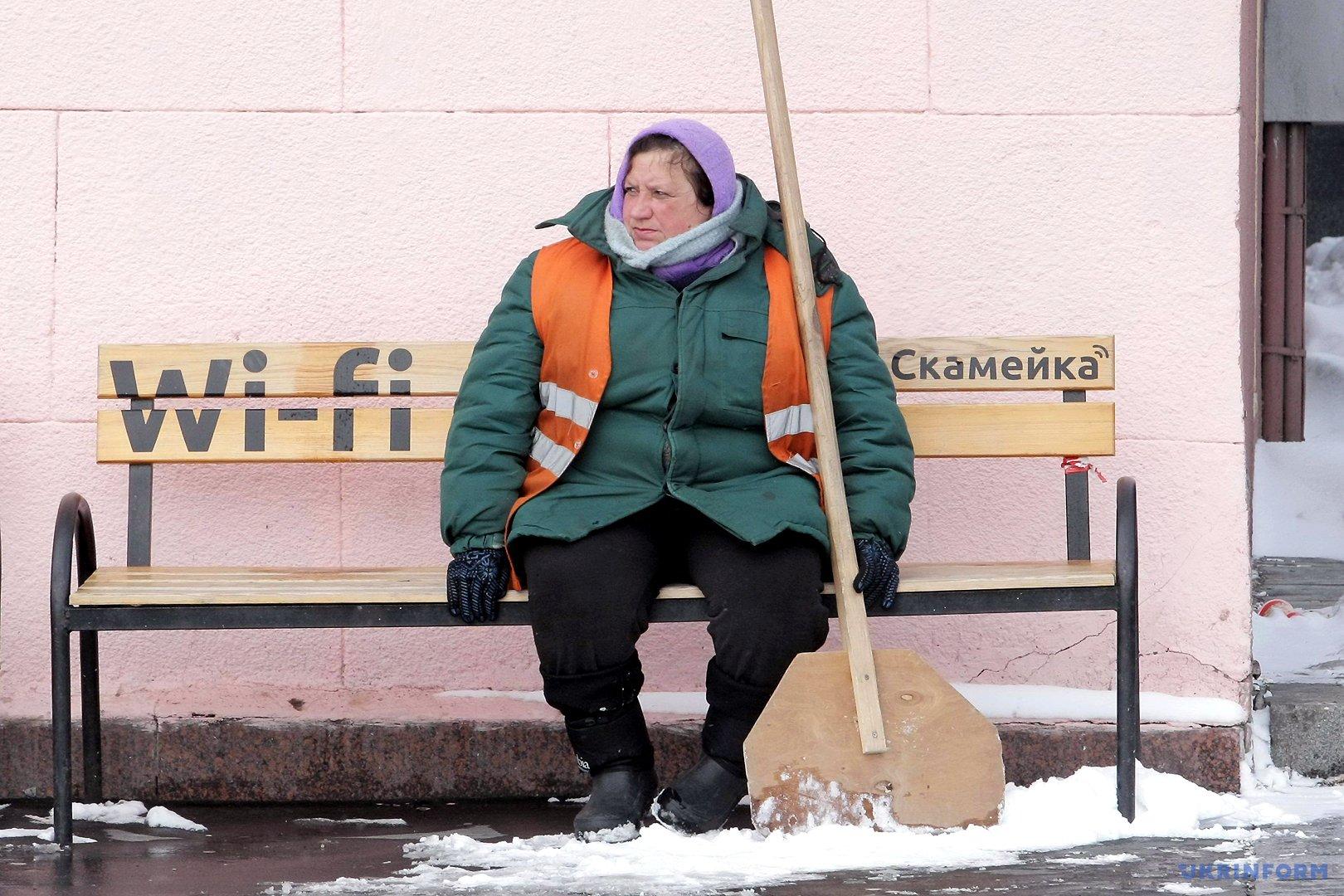 Уборка снега в Харькове / Фото: Мадиевский Вячеслав. Укринформ