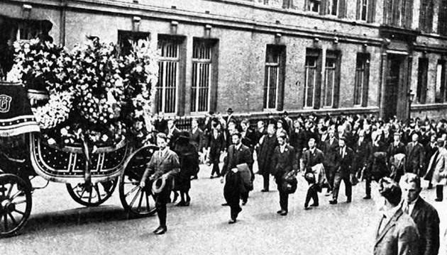 Похорон Симона Петлюри. Париж, 30 травня 1926 року. Фото: Twitter