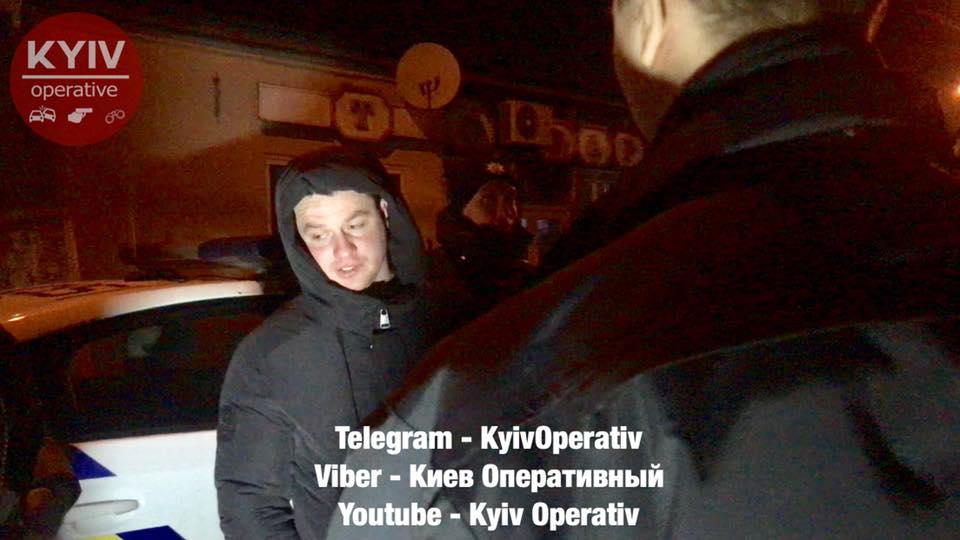 В Киеве за пьяное вождение задержали экс-главу харьковской патрульной полиции 2