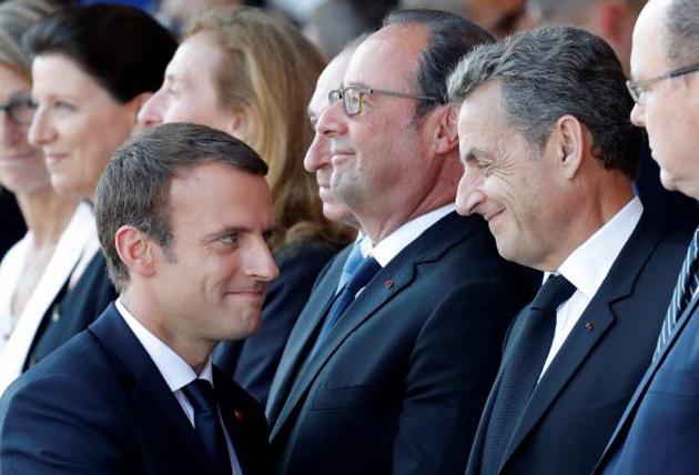 Макрон, Саркозі / Фото: ©REUTERS/Eric Gaillard