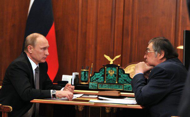 Путин, Тулеев