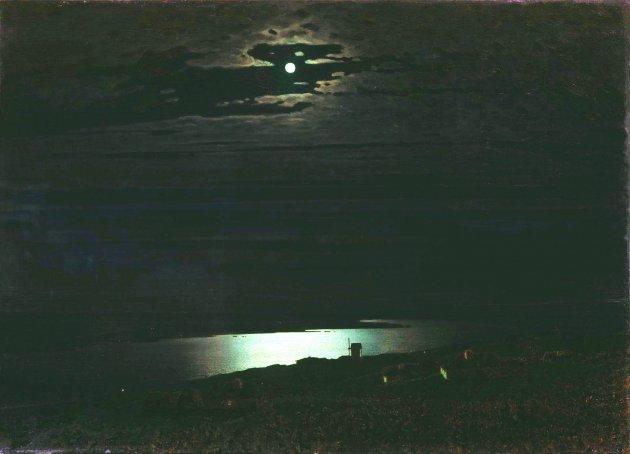 Лунная ночь на Днепре, 1880