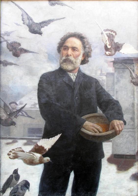 Г. Калмыков «А.И. Куинджи». 1910