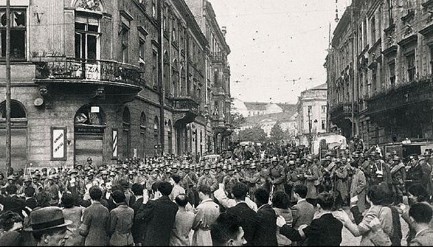 Радянські війська у Львові, вересень 1939 року. Фото: memory.gov.ua