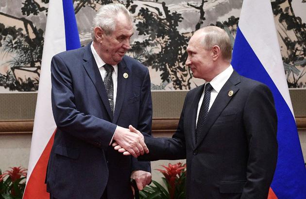 Земан, Путин